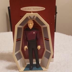 Call mark keepsake ornament Jean-luc Picard